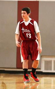 8th Grade Boys • Lourdes Salt Lake vs St. Vincent 1-5-2013