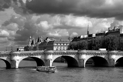 PARIS  noir & blanc