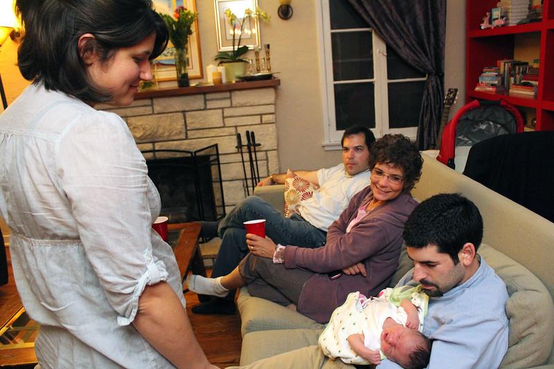 Uncle Craig, Grandma Hope, and Uncle David (photo by Jordan Fifer)