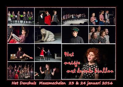 Het meisje met de rode krullen @ Het Danshuis Maasmechelen  23 & 24 januari 2016