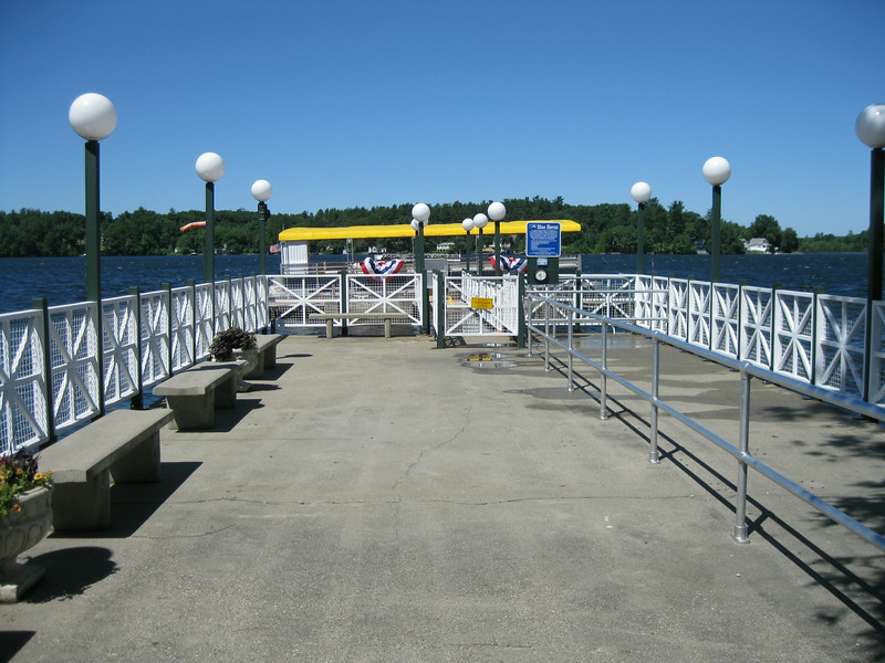 Blue Heron dock.