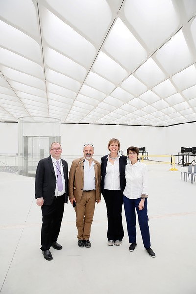 Sky-lit: Volume, Light, and Sound at The Broad
