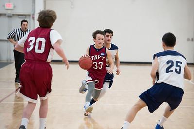 1/14/17: Boys' Thirds Basketball v Hotchkiss