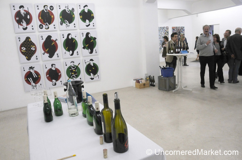 Wine Tasting and Contemporary Art - Berlin, Germany