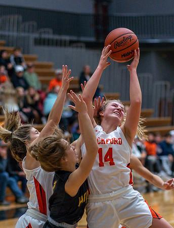 Rockford Girls Varsity Basketball vs Hamilton 12.6.19
