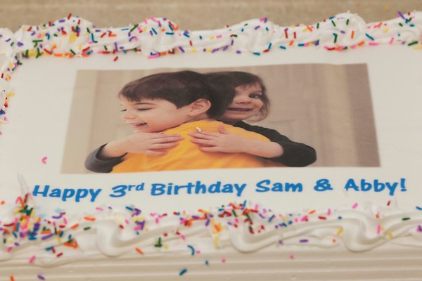 Abby and Sam's Third Birthday Party