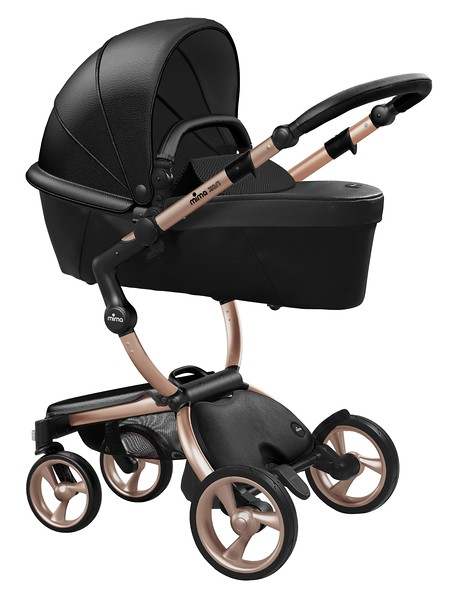 Mima_Xari_Product_Shot_Black_Flair_Rose_Gold_Chassis_Black_Carrycot.jpg