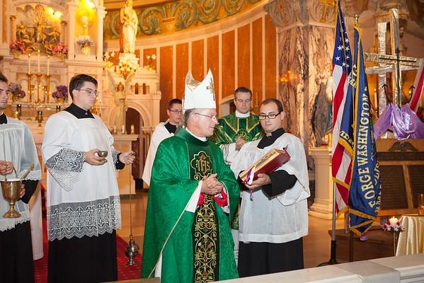 Mass with Archbishop Broglio