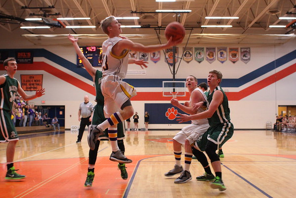 Basketball Boys vs. Hackett - 3/13/15 - Districts KCHS