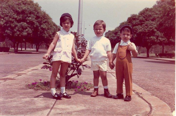 Lucapa - 1973  Nita-Ana Diogo, Paulinho e João Diogo