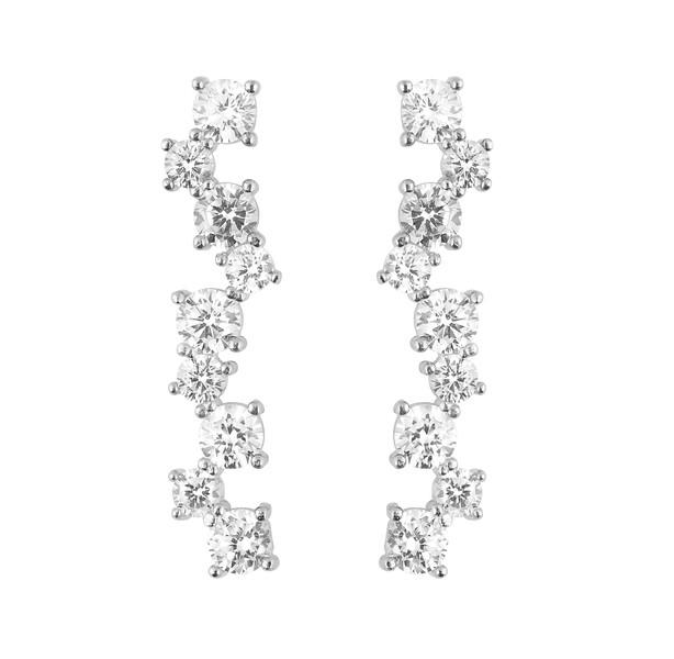 Gatsby long ear silver