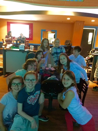 End of Year Band Bowling Party