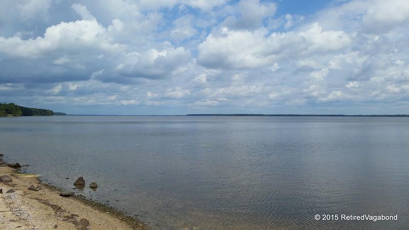 110,000-acre Lake Marion