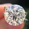 3.86ct Old European Cut Diamond GIA K VS2 5