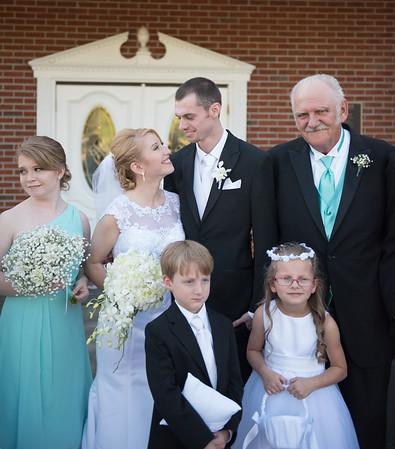 James & Holly, Wedding