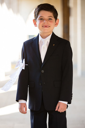 harrison's first communion