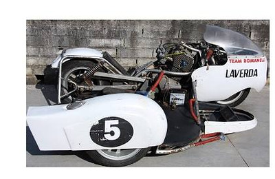 Laverda sfc, racing sidecar
