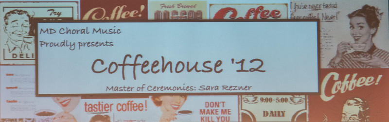 Mater Dei High School Coffeehouse 2012