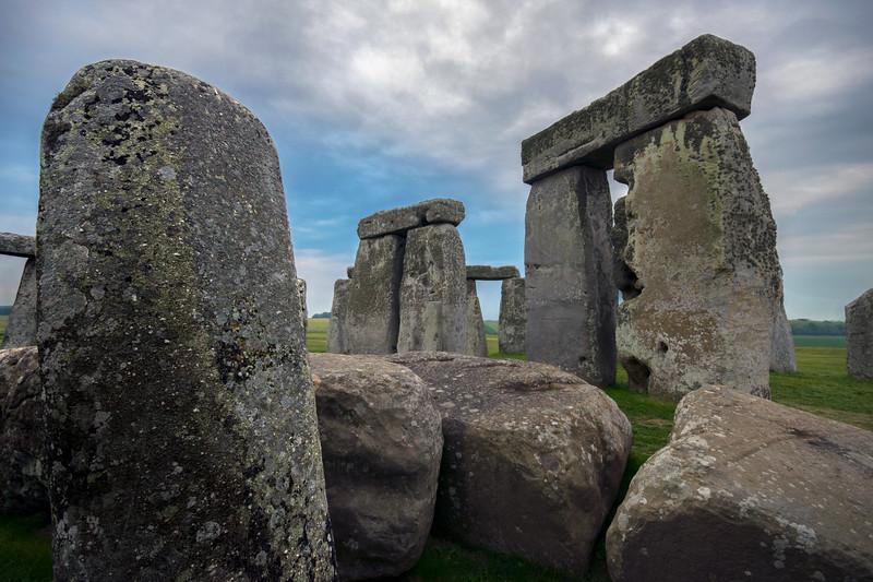 Stonehenge Inside