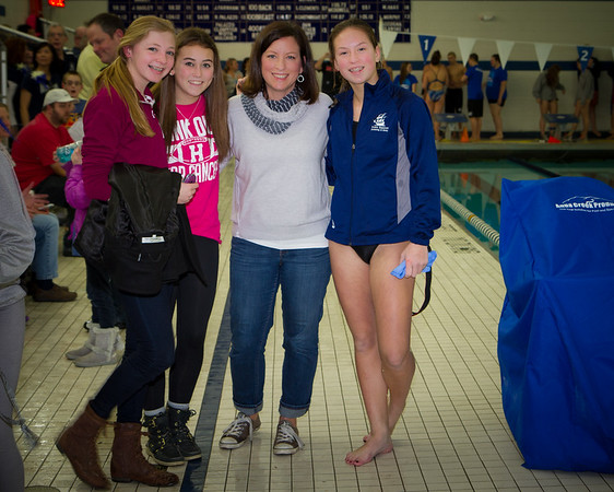 HHS Swimming Senior Night Parent Photos