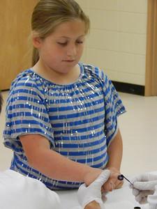 Purple Pinkie Day Suwannee Intermediate School