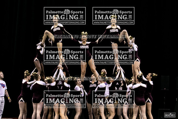 Ninety Six-2019 State Cheerleading Championship