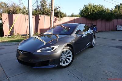 2018 Tesla Model S 75 - Midnight Silver Metallic