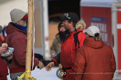John Beargrease Sled Dog Marathon Finish 2-3-10