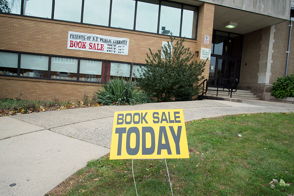 10/17/19 Wesley Bunnell | StaffrrThe New Britain Public Library hosted their fall book sale with a sneak peak offered on Thursday November 17, 2019 for a small admission fee.