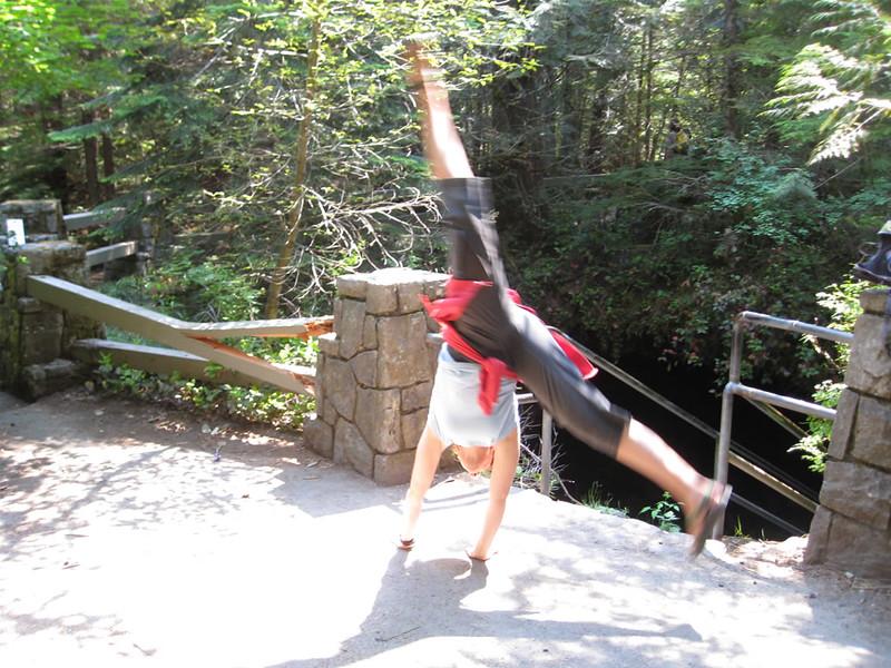 Stacee Calderon - Ape Cave, WA - 8/2008