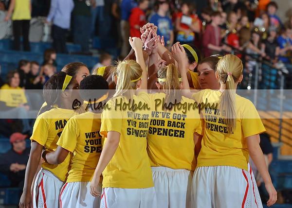 Girls Varsity Basketball Waverly at Mason