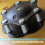 SKU: H-PRESS/SUSPENSION,  Heatware Multitant Heat Press Suspension Pad with 6 Supporting Springs