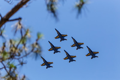 Blue Angels Flyover 2020