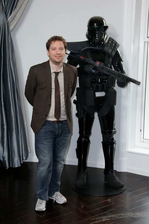 . Director Gareth Edwards poses for photographers during the Rogue One: A Star Wars Story fan photo call in London, Wednesday, Dec. 14, 2016. (Photo by Joel Ryan/Invision/AP)