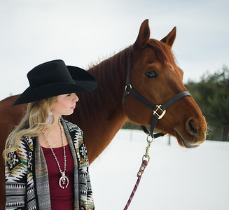 Alana - Equine Portrait Session