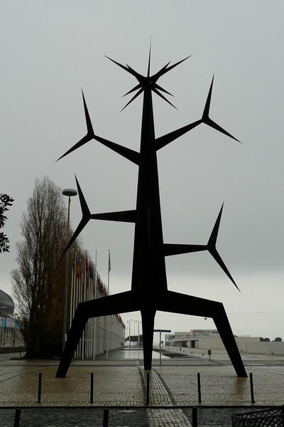 Sculpture. Parque das Nações, Lisbon