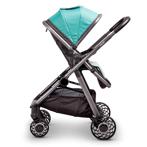 4 Ark Travel System Pushchair Mode Parent Facing Teal.jpg