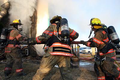2-Alarm Building Fire 3915 S. Seneca (1/10/10)