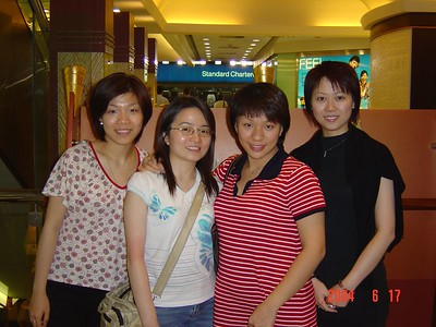 Dinner gathering with pregnant Fiona (Jun 17, 2004) DONE