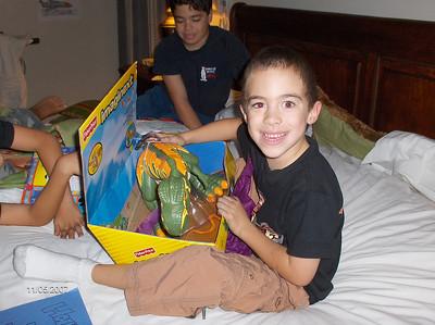 Cumpleaños de Julián(6) y Diego (8) + Celebración en los boliches. Sto. Dgo. República Dominicana 2007