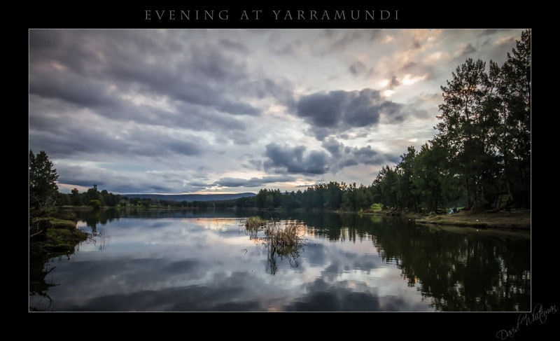 Evening at Yarramundi
