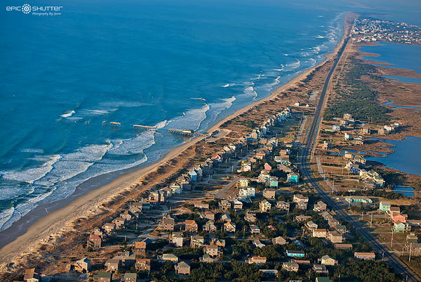March 10, 2016, Above the Coast, OBX Airplane, Aerial Tour, OBX, Hatteras Island, OBX Airplanes