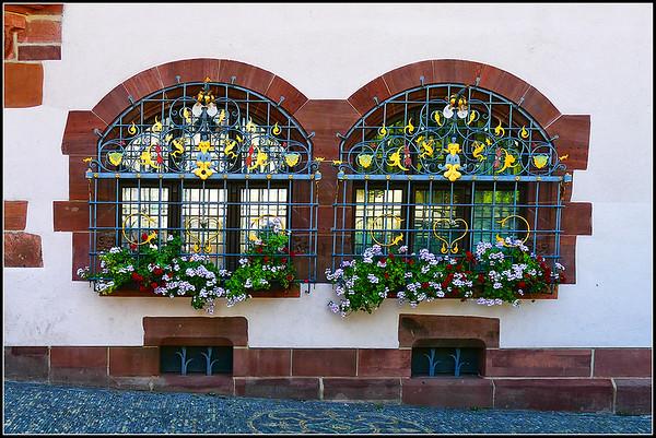 Very elaborated windows