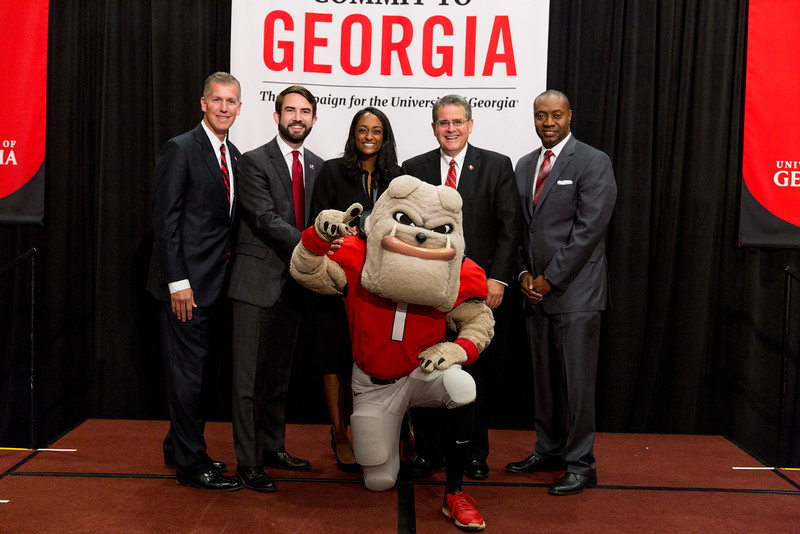 Description: Capital Campaign Campus KickoffDate of Photo: 11/10/2016Credit: Andrew Davis Tucker, University of GeorgiaPhotographic Services File: 34401-219The University of Georgia owns the rights to this image or has permission to redistribute this image. Permission to use this image is granted for internal UGA publications and promotions and for a one-time use for news purposes. Separate permission and payment of a fee is required to use any image for any other purpose, including but not limited to, commercial, advertising or illustrative purposes. Unauthorized use of any of these copyrighted photographs is unlawful and may subject the user to civil and criminal penalties. Possession of this image signifies agreement to all the terms described above.
