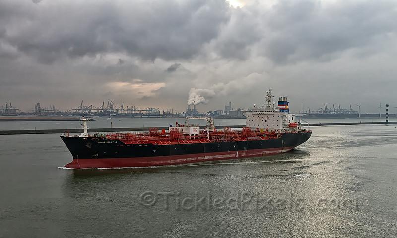Oil/Chemical Tanker 'Bunga Melati 4'
