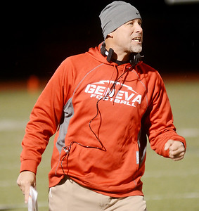Perry at Geneva football October 19, 2018