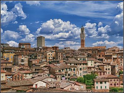 Siena - La città
