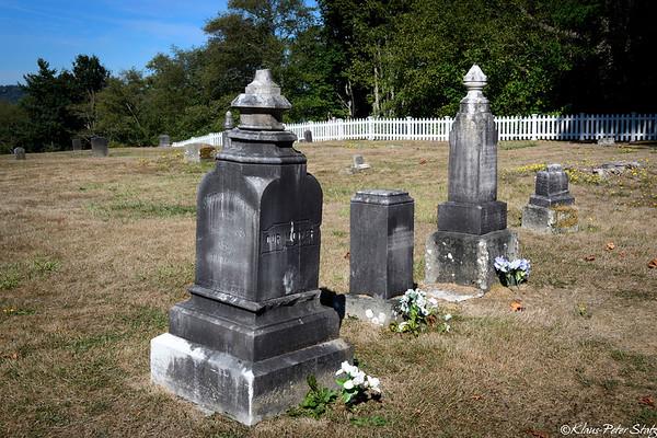 Buena Vista Cemetery, Port Gamble, WA 2017
