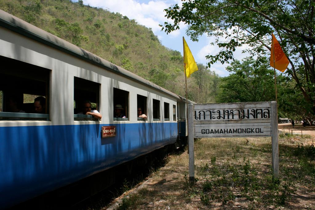 Thailand: Train through the country