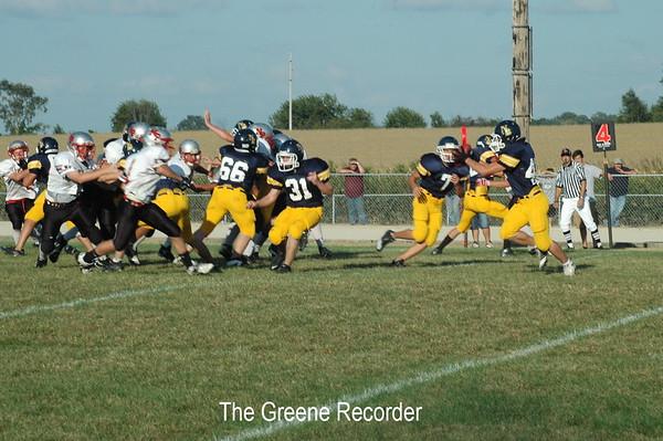 JV Football vs NP
